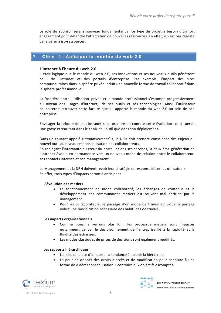PhilippeC livre blanc ei technologies projet refonte intranet juillet v