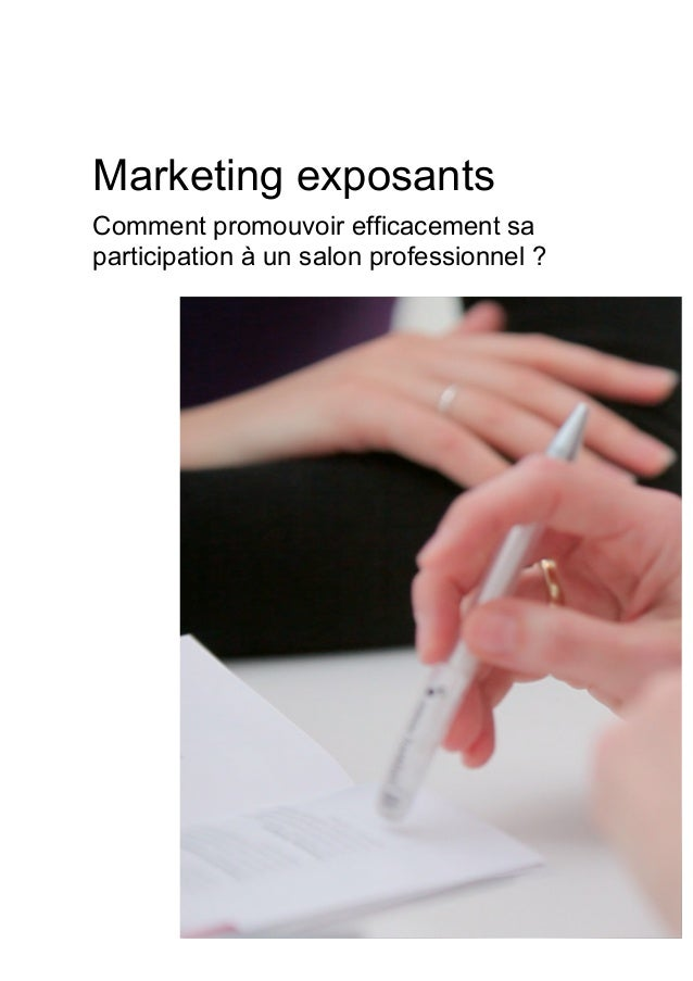 Livre blanc marketing exposants comment optimiser sa Salon professionnel