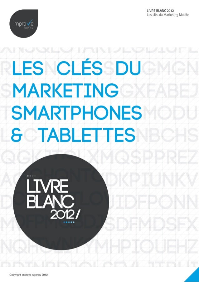"Livre blanc ""Les clés du marketing smartphones et tablettes"" by Improve ag…"