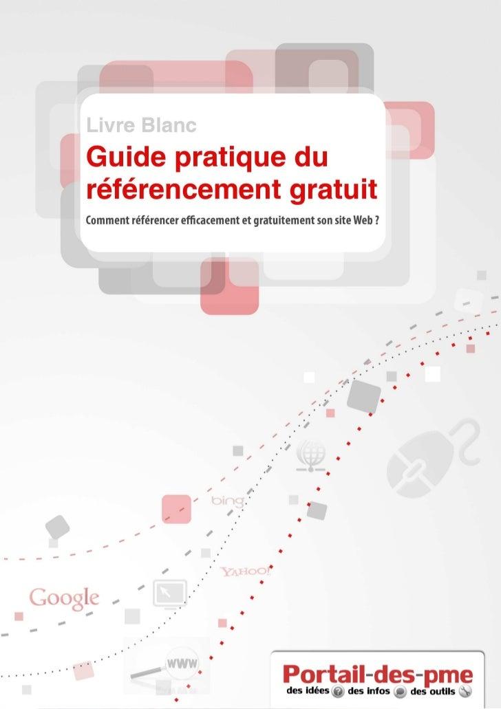 Livre Blanc Référencement édité par Portail des PME