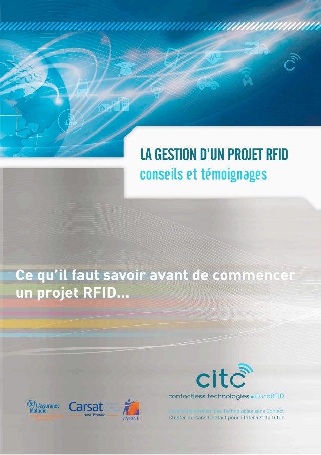 La gestion d'un projet RFID : conseils et témoignages
