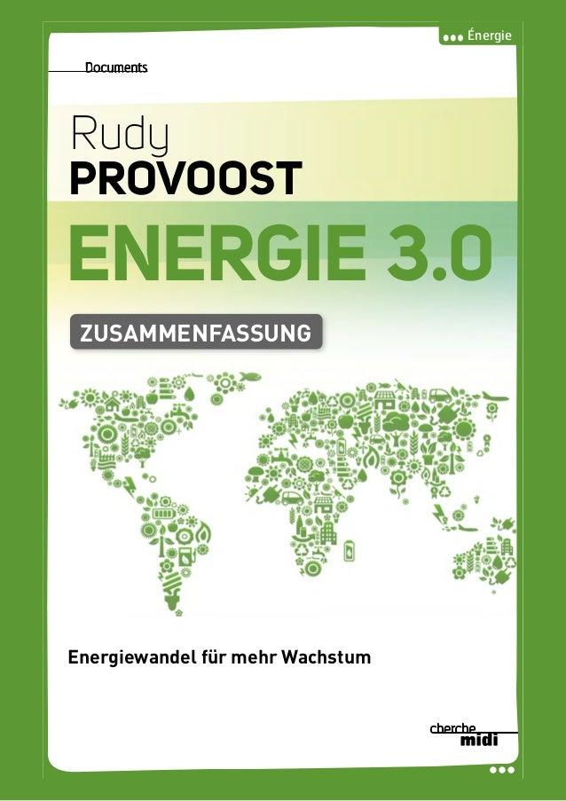 Energie 3.0, von Rudy Provoost