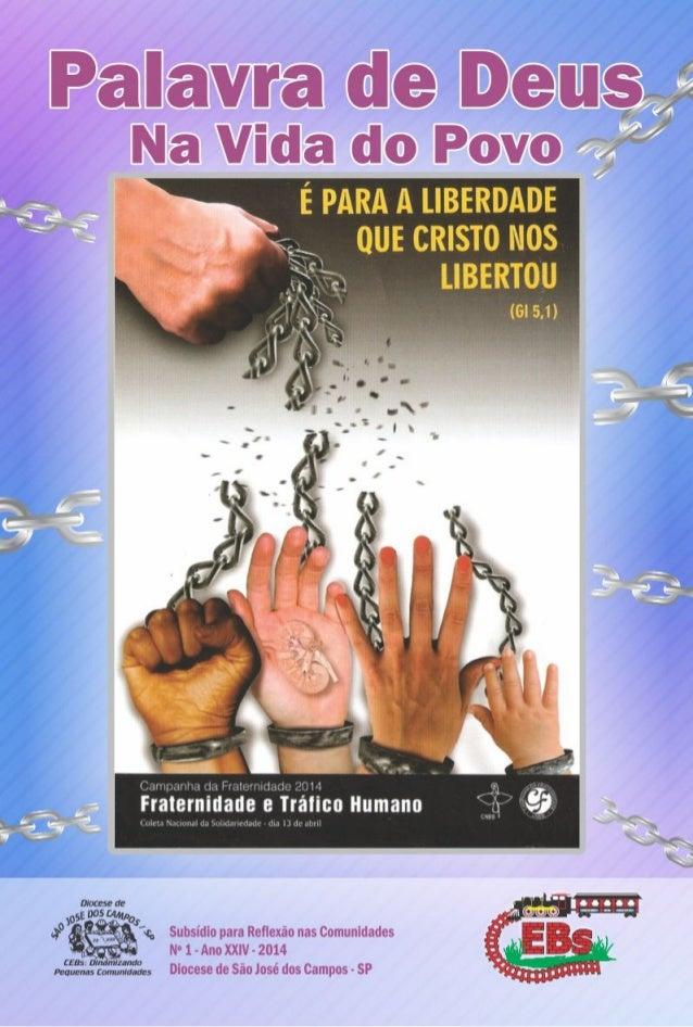 Campanha da Fraternidade 2014 - Livreto das CEBs diocese de SJC