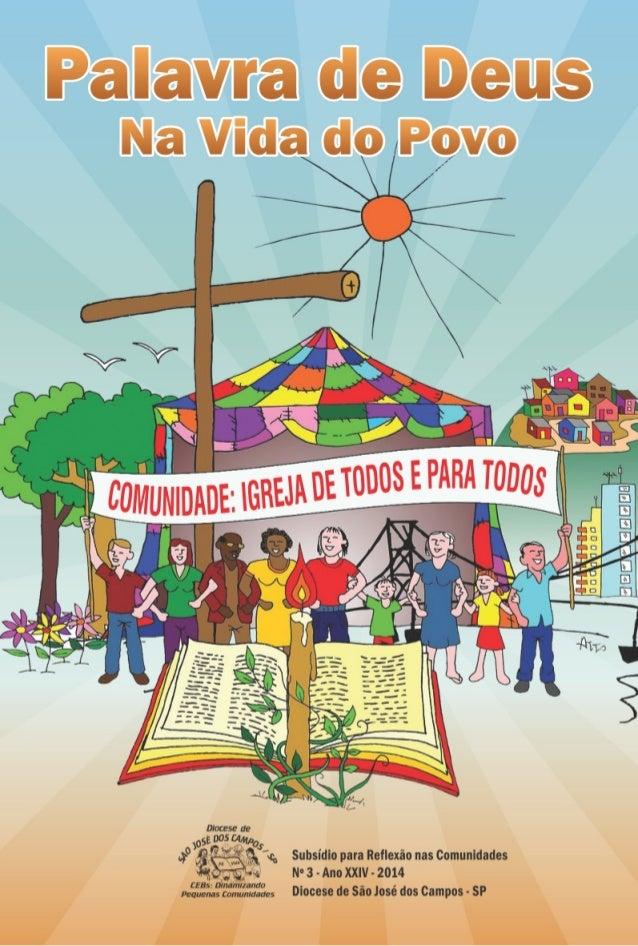 Livreto CEBs  - Comunidade:  Igreja de todos e para todos