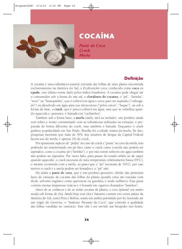 drogas25AGO   9/2/03   6:35 PM    Page 36                                              COCAÍNA                            ...