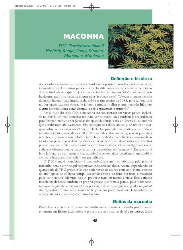 drogas25AGO   9/2/03   6:36 PM    Page 45                                 MACON HA                          THC (Tetraidro...