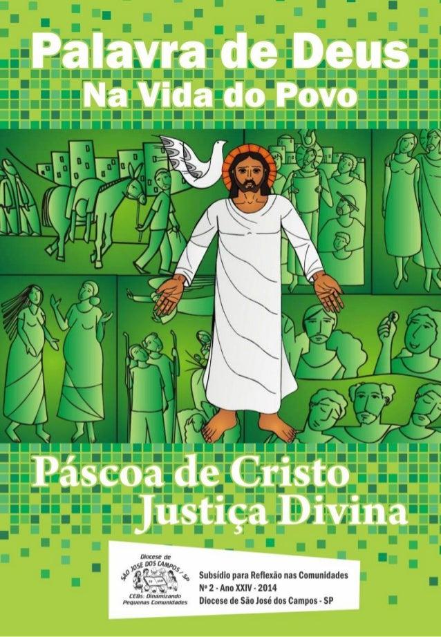 Livreto Pascoa de Cristo Justiça Divina