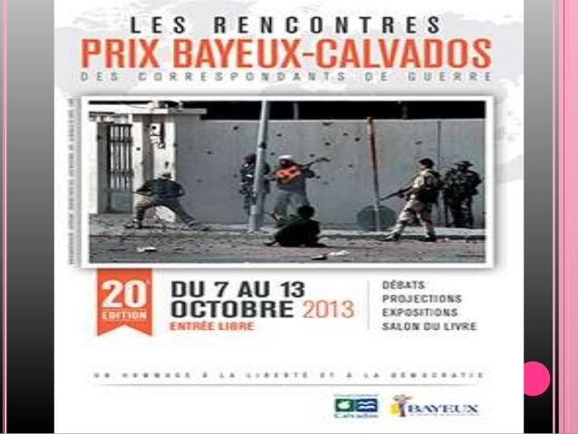 PRIX BAYEUX 2013 ATELIER D'ECRITURE CITOYENS DU MONDE TRAVAUX REALISES PAR LES ELEVES DE TL option droit