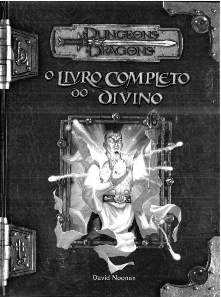 Livro  Completo Do  Divino    D& D 3.5