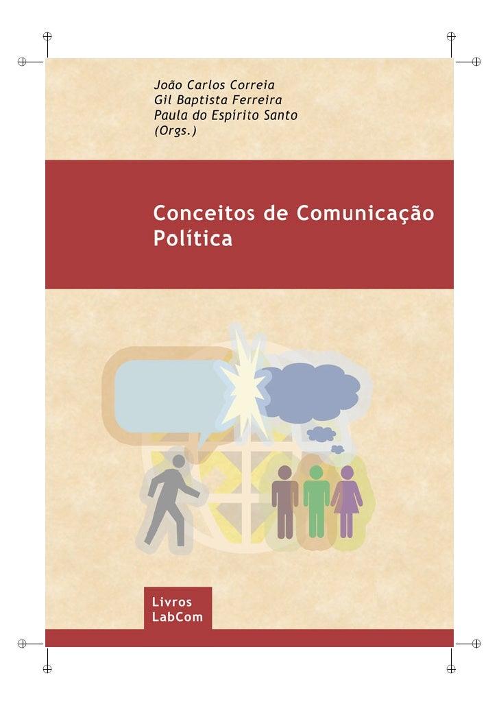 Livro conceitos de comunicacao politica