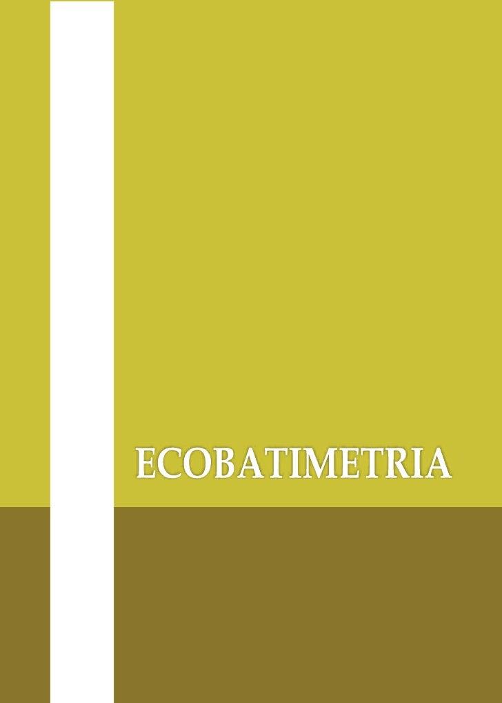 Livro   ecobatimetria