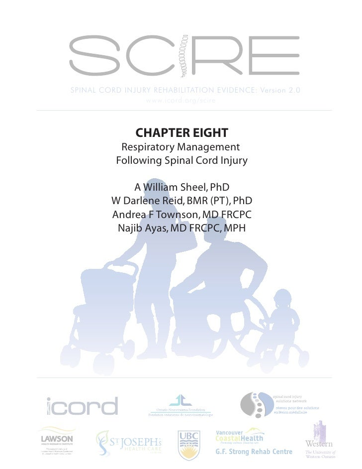 SPINAL CORD INJURY REHABILITATION EVIDENCE: Version 2.0                  www.icord.org/scire                   CHAPTER EIG...