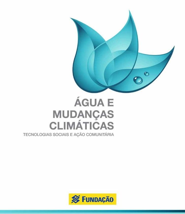 Livro agua e mudancas climaticas 6fev12
