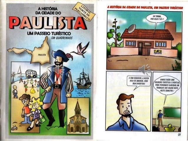 Livro a história da cidade do paulista