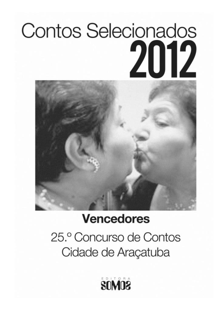 Livro Contos Selecionados 2012