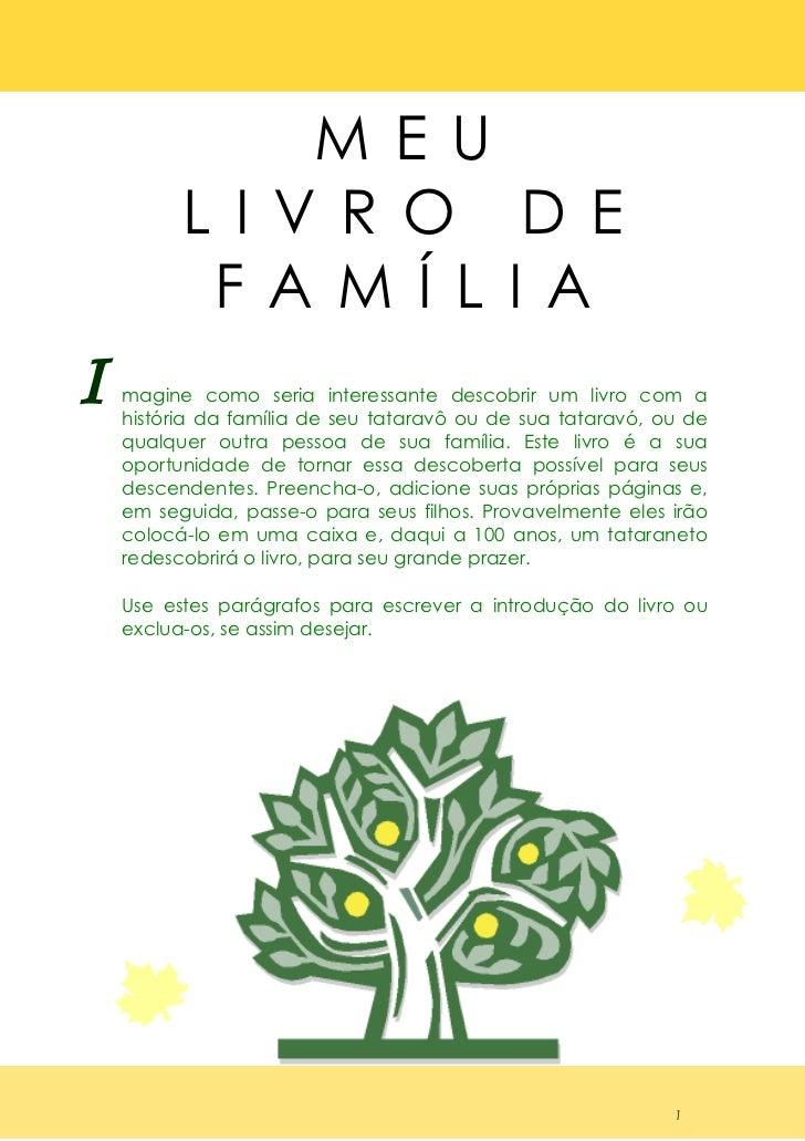 Livro Da Familia