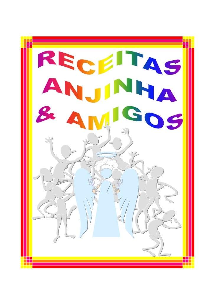 Livro de receitas anji