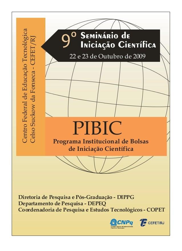 Centro Federal de Educação Tecnológica Celso Suckow da Fonseca - CEFET/RJ                                               22...