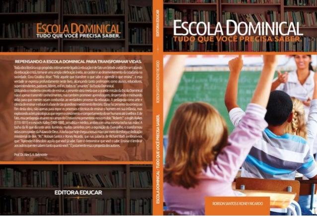 PREFÁCIO – PR. ESDRAS COSTA BENTHO A Escola Bíblica Dominical tem resistido aos tempos e as mudanças culturais. Muitos, em...