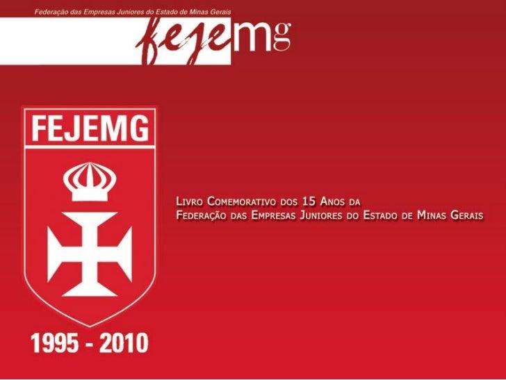 Livro sobre a Federação Mineira de Empresas Juniores - FEJEMG - 15 anos