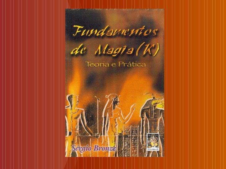 Livro fundamentos da magia
