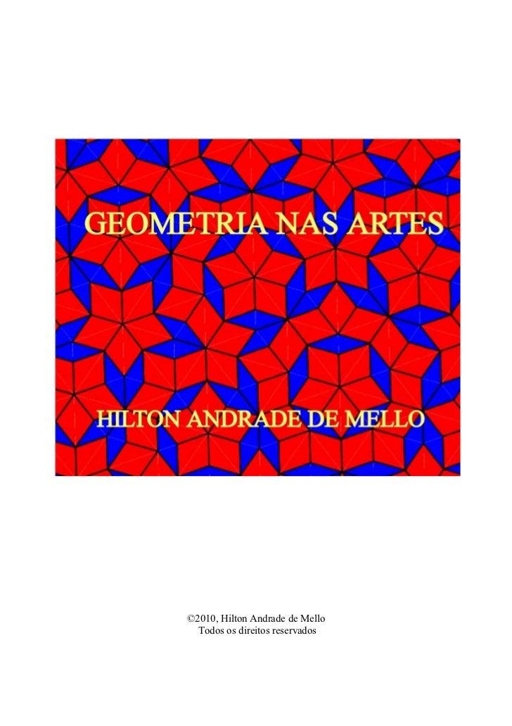 Livro geometria na arte