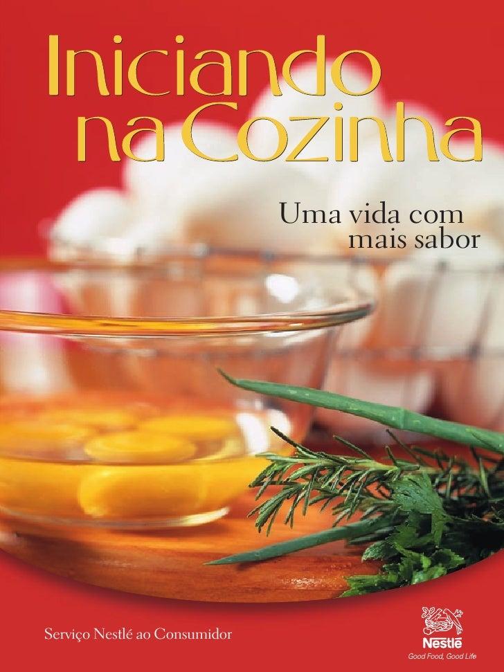 Livro iniciando na-cozinha