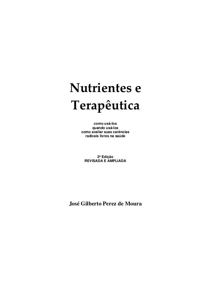 Livro nutrientes e-terapeutica