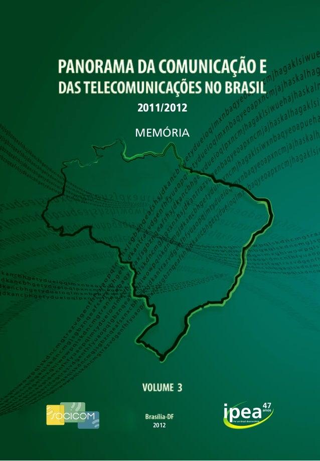 2011/2012 MEMÓRIA  2012