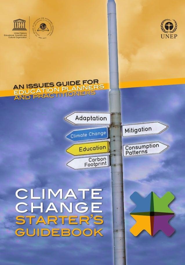 Mudanças Climáticas- Manual em Inglês