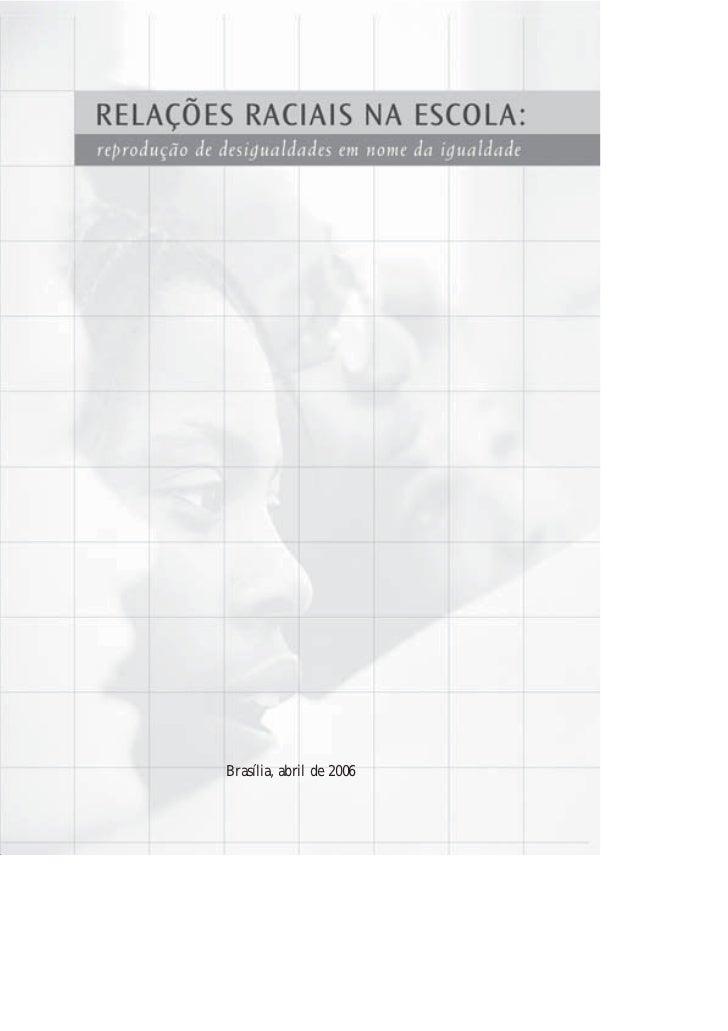 Livro relações raciais