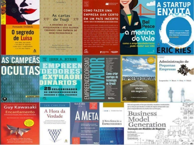Livros empreendedorismo