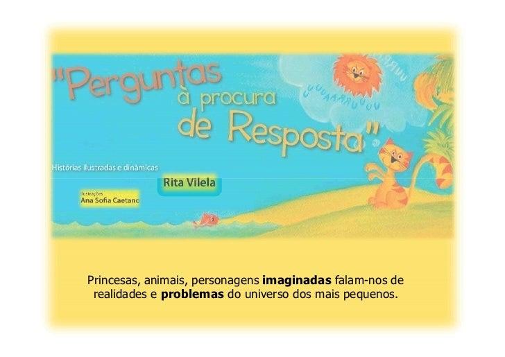 Livros infantis de Rita Vilela
