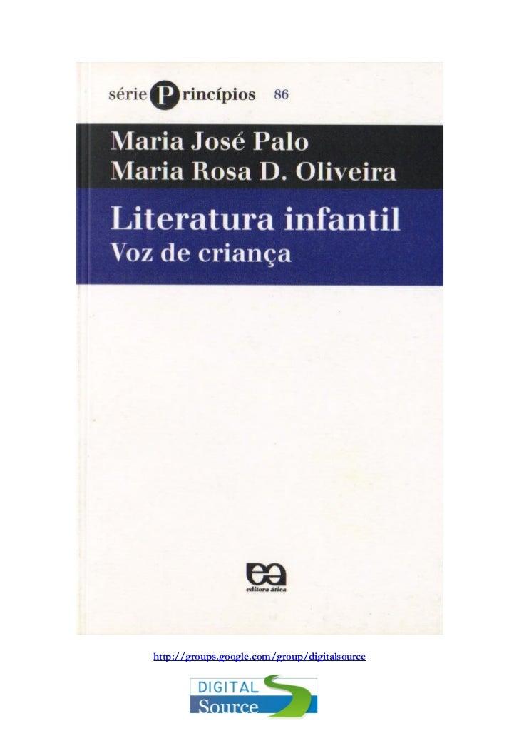 [Livrosparatodos.net].maria.jose.palo.literatura.infantil.voz.de.crianca