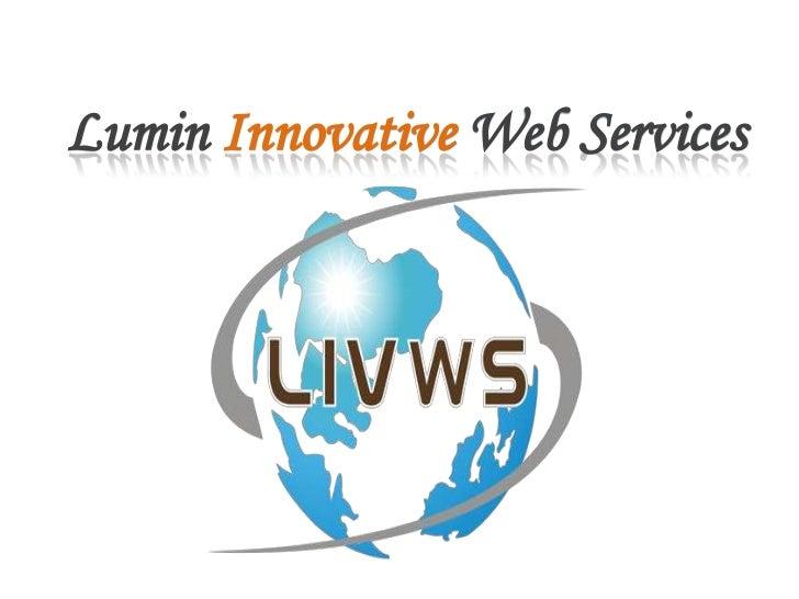 Lumin Innovative Web services