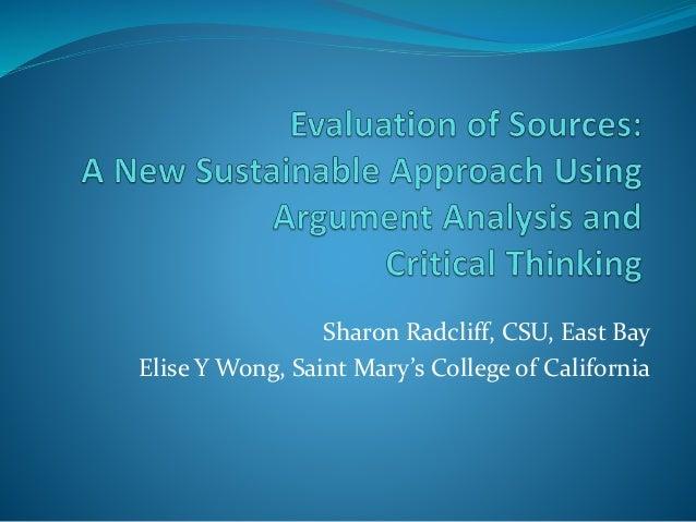 analysis evaluation argument essay
