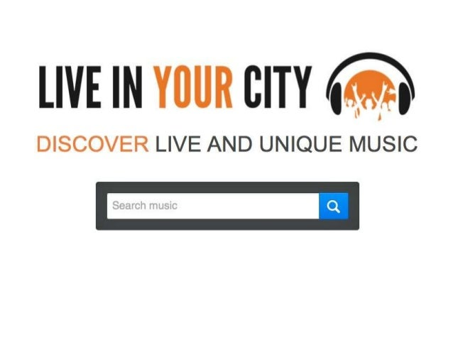 Vision • Live In Your City aims to be the go-to place for all live and unique recordings online.