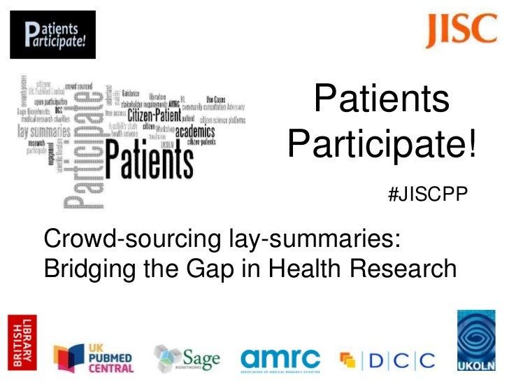 Crowdsourcing Lay Summaries: Bridging the Gap in Health Research