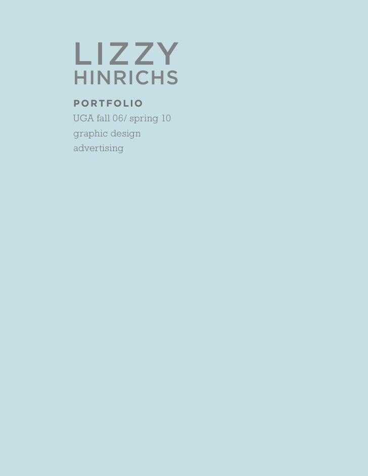 Lizzy Hinrichs Portfolio
