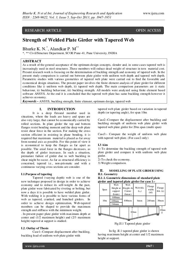 Bhurke K. N et al Int. Journal of Engineering Research and Application ISSN : 2248-9622, Vol. 3, Issue 5, Sep-Oct 2013, pp...