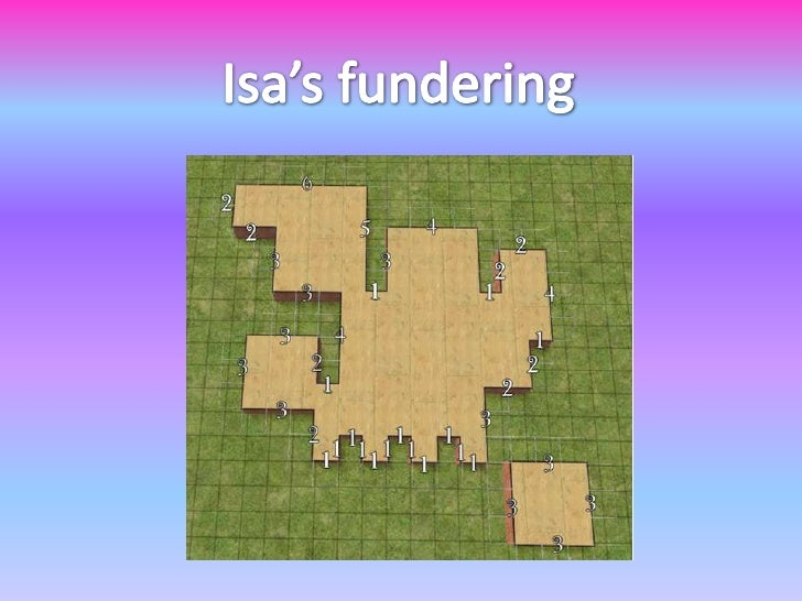 Isa's fundering<br />