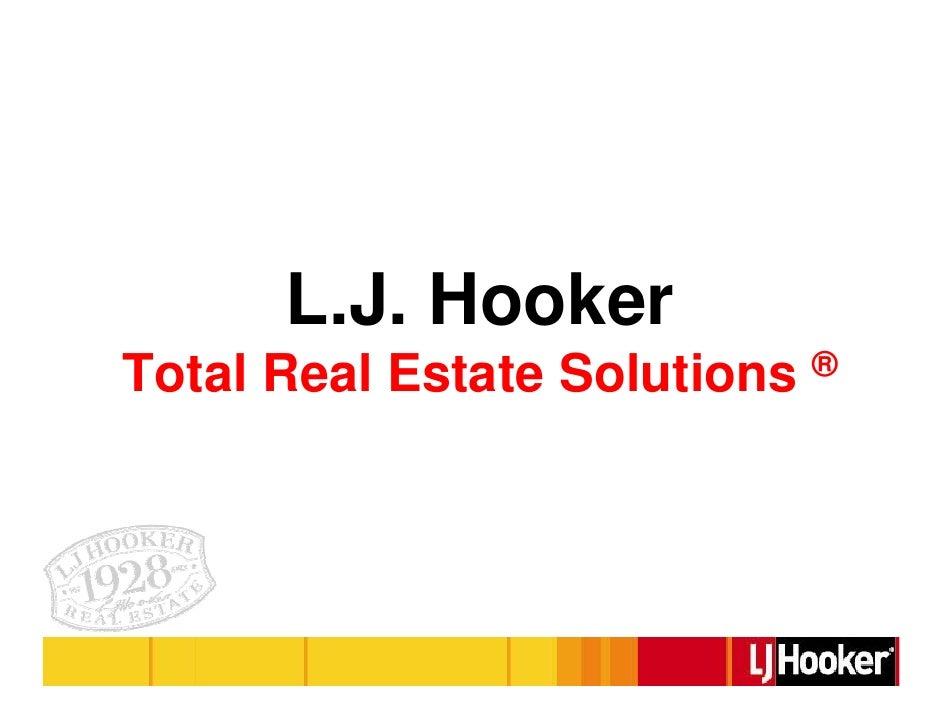 L.J. Hooker Total Real Estate Solutions ®