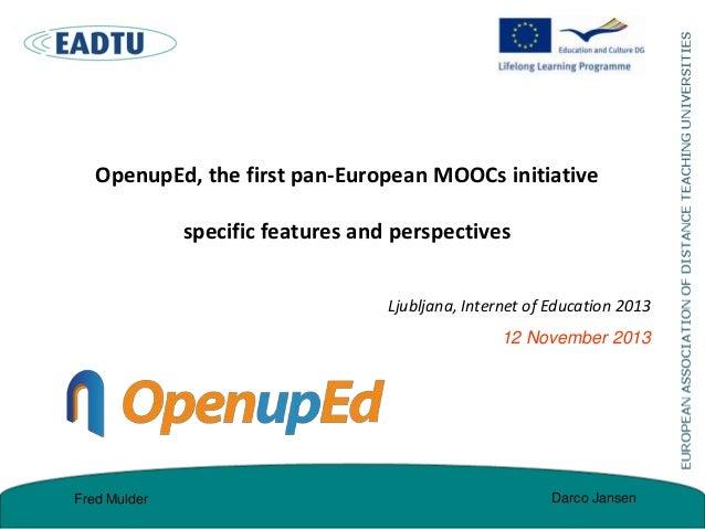 Ljubljana openup ed-12nov2013