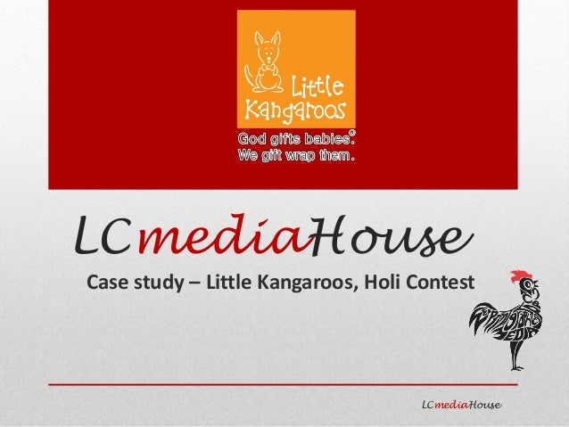 LCmediaHouse Case study – Little Kangaroos, Holi Contest LCmediaHouse