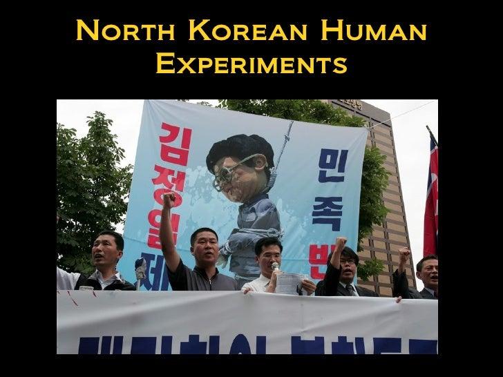 North Korean Human     Experiments