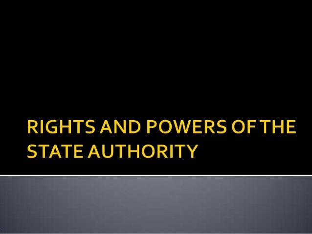 LAND LAW 1 slides rights and powers of the state authority 2014