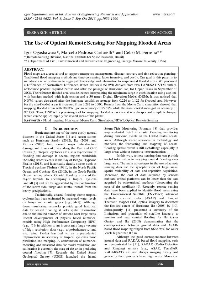 Igor Ogashawara et al Int. Journal of Engineering Research and Application ISSN : 2248-9622, Vol. 3, Issue 5, Sep-Oct 2013...