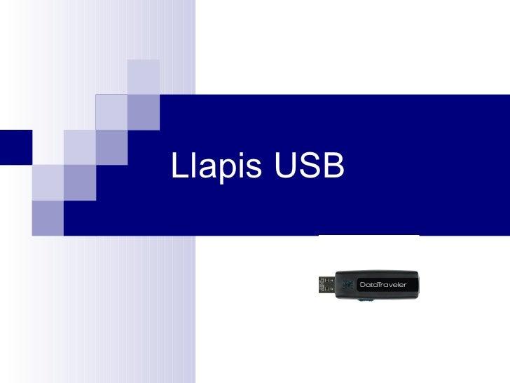 Llapis USB