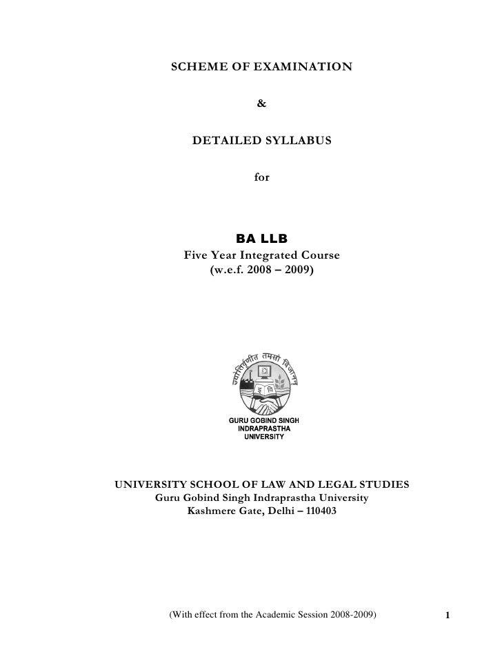 SCHEME OF EXAMINATION                            &             DETAILED SYLLABUS                            for           ...