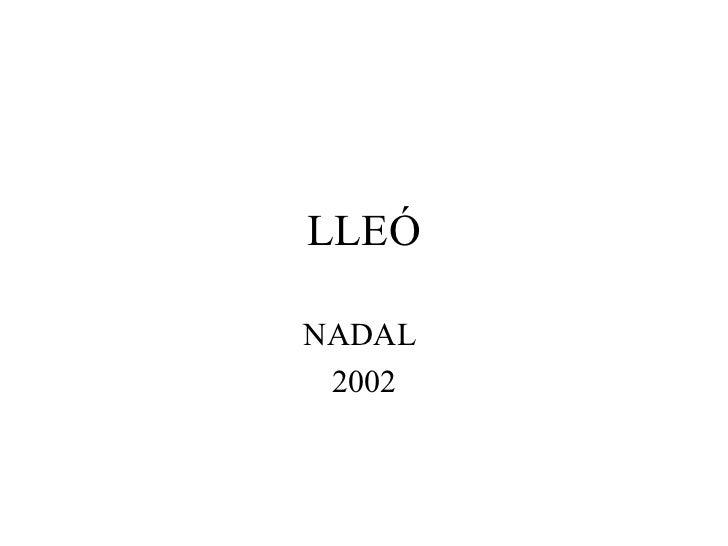 LLEÓNADAL 2002